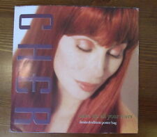 """CHER RARE 7"""" SAVE UP ALL YOUR TEARS LTD ED POSTER SLEEVE"""