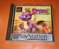 SONY PS1 GAME SPYRO 2 GATEWAY TO GLIMMER PLAYSTATION PS2 RETRO GAMING NICE