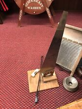 """Nice, rare & old """"Professional musical saw, Mfg Valley Saw Co"""