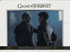 Game Of Thrones Season 6 Gold Relationships Chase Card DL36 Roose Bolton & Ramsa