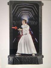 STAR Wars Principessa Leia 40th ANNIVERSARIO TITANIO DIE CAST FIGURA DI SERIE NERO