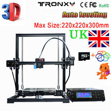 Tronxy X3 DIY 3D Printer kit Aluminium Structure machine Upgraded Auto leveling