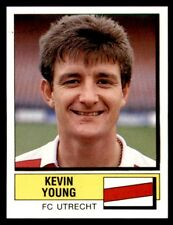 Panini Voetbal 88 (Nederland) Kevin Young F.C. Utrecht No. 266