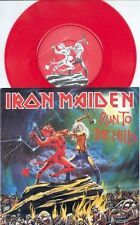 "IRON MAIDEN - RUN TO THE HILLS - 7"" RED VINYL BRAND NEW 2002"