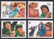Australië postfris 1987 MNH 1055-1058 - Aussie Kids