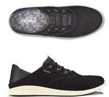 Olukai Alapa Li Black Dark Shadow Sneaker Slip-On Men's US sizes 7-14 NEW!!!
