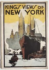 KING'S VIEWS OF NEW-YORK édité par MOSES KING vers 1910