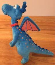 "Disney Doc Mcstuffins STUFFY Blue Dragon plush 8.5""H"