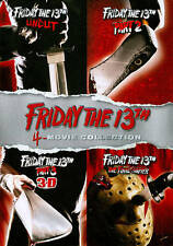 Friday the 13th: 4-Movie Collection (DVD, 2013, 4-Disc Set)