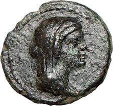 MENAINON Sicily  Demeter Cult  Torches Emblem of hope Ancient Greek Coin  i24273
