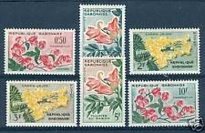 FIORI TROPICALI - TROPICAL FLOWERS GABON 1961