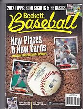 BASEBALL BECKETT MARCH 2012 ISSUE #78 SECRETS & BASICS JOSE REYES ALBERT PUJOLS