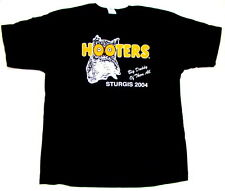 4 Hooters Uniform T-Shirt XXL from Sturgis all Harley Bike Show work play ride