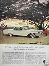 1960 Mercury Country Cruiser Wagon ORIGINAL OLD AD CMY STORE 4MORE 5+= FREE SHIP