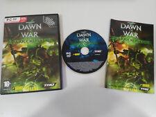WARHAMMER 40000 DAWN OF WAR DARK CRUSADE JUEGO PC DVD-ROM EDICION ESPAÑA