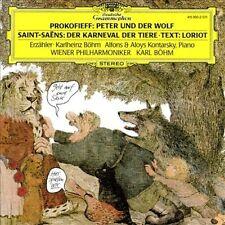 PROKOFIEV: PETER & THE WOLF, ETC / B?HM, VIENNA PHILHARMONIC NEW CD