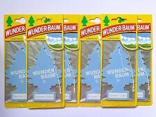 (1,50€/Einheit) 6 x WUNDER-BAUM® Summer Cotton Duft Lufterfrischer Air Freshener