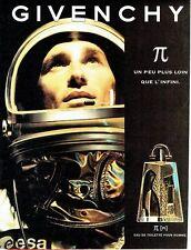 Publicité Advertising 087  1998  eau toilette homme Givenchy PI