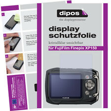 2x Fujifilm Finepix XP150 Schutzfolie klar Displayschutzfolie Folie unsichtbar