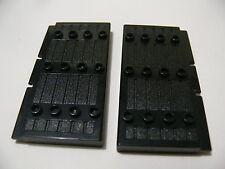 Lego 2 portes noires set 8874 7419 8823 6088 / 2 black doors stockade