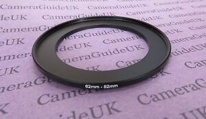 62mm to 82mm 62mm-82mm Stepping Step Up Filter Ring Adapter