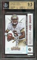 2015 contenders dp game day tickets #22 JAMEIS WINSTON rc BGS 9 9.5 9.5 9.5