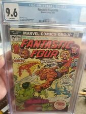 Fantastic Four #166 CGC 9.6 ** Hulk Vs Thing ** WHITE PAGES **