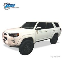 BLACK PAINTABLE Extension Style Fender Flares 14-17 Toyota 4Runner Full Set