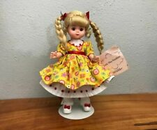 """#22 Madame Alexander  Little Miss Sunshine 8"""" Doll With Stand #35065"""