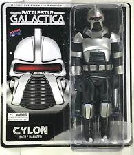 New listing Silver Cylon Centurion Battle Damage 8 Inch — Bif Bang Pow Battlestar Galactica