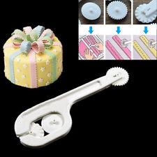 4Pcs Fondant Cake Sugar Craft Paste Embosser Wheel Stitching Cutter Tools 2016