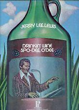 JERRY LEE LEWIS drinkin wine spo-dee o'dee US EX LP