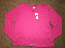 The Childrens Place knit long sleeve school top shirt girl XL 14 pink