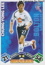 CHUNG-YONG LEE # SOUTH KOREA BOLTON FC SEOUL CARD PREMIER LEAGUE 2010 TOPPS