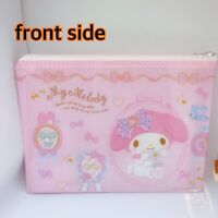 *Unused* Sanrio My Melody Vinyl Zipper Pouch Bag B5 From Japan F//S 276