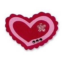 Sizzix Sizzlits DIE – Corazón, triple trufa de chocolate 654761 Nuevo Descatalogado