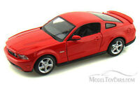 Ford Mustang GT, Red - Maisto 34209 - 1/24 Scale Diecast Model Toy Car
