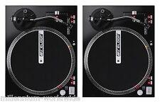 2 RELOOP RP-4000M - HIGH TORQUE DIRECT DRIVE TURNTABLES, TWIN DJ SET Auth Dealer