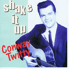 CONWAY TWITTY - SHAKE IT UP (32 Original 50s ROCK 'N' ROLL + ROCKABILLY) SALE CD