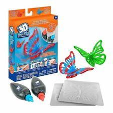3D Magic BUTTERFLY REFILL PACK Stencils Molds & Gels Official