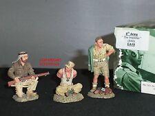 King and country EA19 8TH Ejército Británico SAS el impostor Segunda Guerra Mundial Figura Set