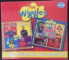 Brand New The Wiggles CD Apples & Bananas Wiggle House - 2 CD