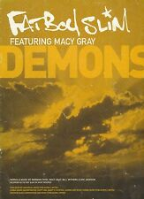 Demons - Fat Boy Slim featuring Macy Gray - 2000 Sheet Music