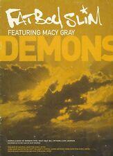 Demons - Fat Boy Slim featuring Macy Gray - 2000 Sheet Music