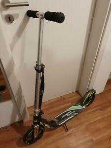 Hudora roller big wheel 205 schwarz grün Top Zustand
