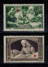 (a9) timbres France n° 459/460 neufs** année 1940