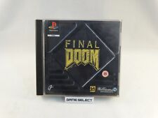 FINAL DOOM FPS SONY PLAYSTATION 1 2 3 ONE PS1 PS2 PS3 PSX PAL ORIGINALE COMPLETO