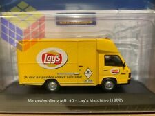Mercedes Benz MB 140 Lay's Matutano -1988- (1/43) Furgoneta camion Reparto Lays