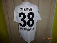 1.FC Saarbrücken Nike Auswärts Matchworn Trikot 2011/12 + Nr.38 Ziemer Gr.L
