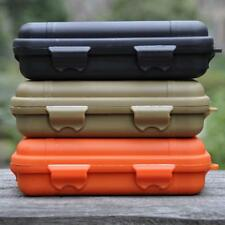 Plastic Outdoor Survival Container Carry Box Waterproof Shockproof Random